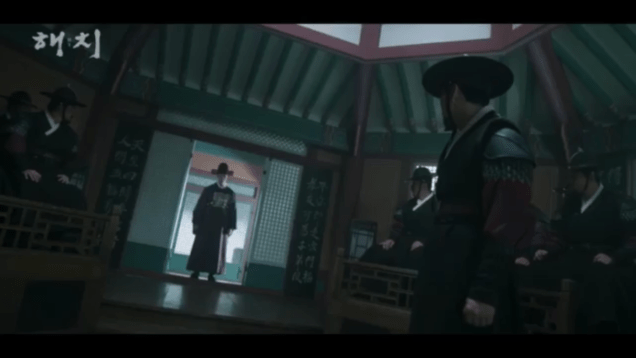 2019 1 10 haechi : hatch trailer scree captures by fan 13. credit sbs 16