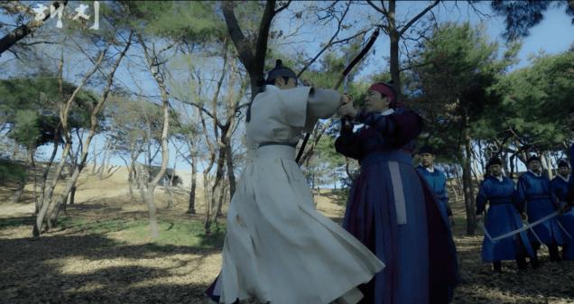 2019 1 21 jung il-woo in haechi third trailer. cr. sbs screen aptures: fan 13 13