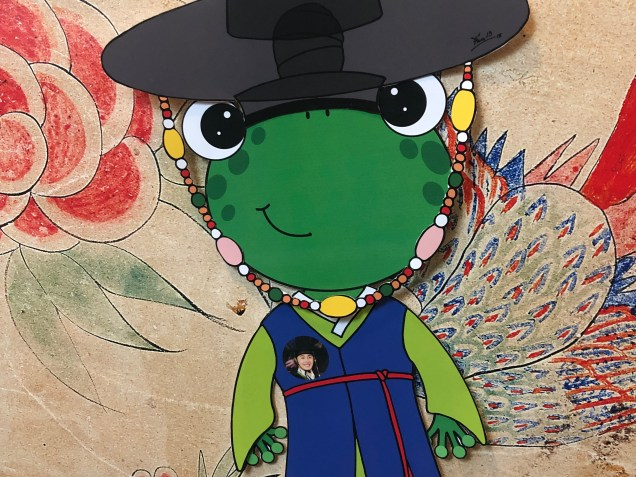 JIW as JFrog Prince Yang. Fan 13th's finished paper doll.JPG