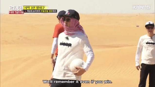 2016 3 13 Jung Il-woo in running Man Episode 290. (Dubai Part II) Cr. SBS 124