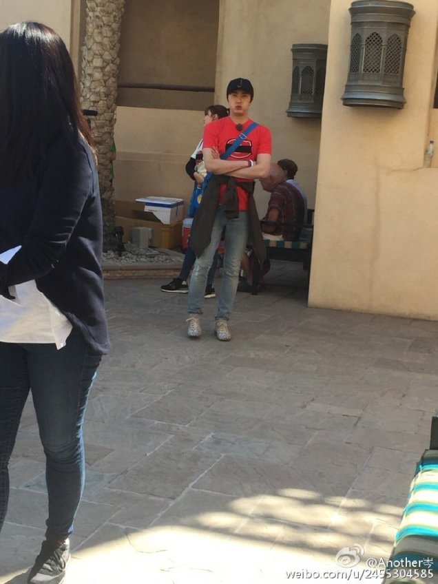 2016 3 13 Jung Il-woo in running Man Episode 290. (Dubai Part II) Cr. SBS and others 22
