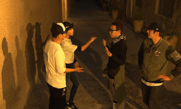 2016 3 13 Jung Il-woo in running Man Episode 290. (Dubai Part II) Cr. SBS and others 24