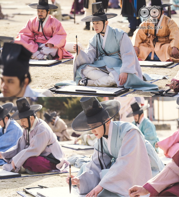 2019 1 Jung Il-woo and cast BTS of Haechi. 3