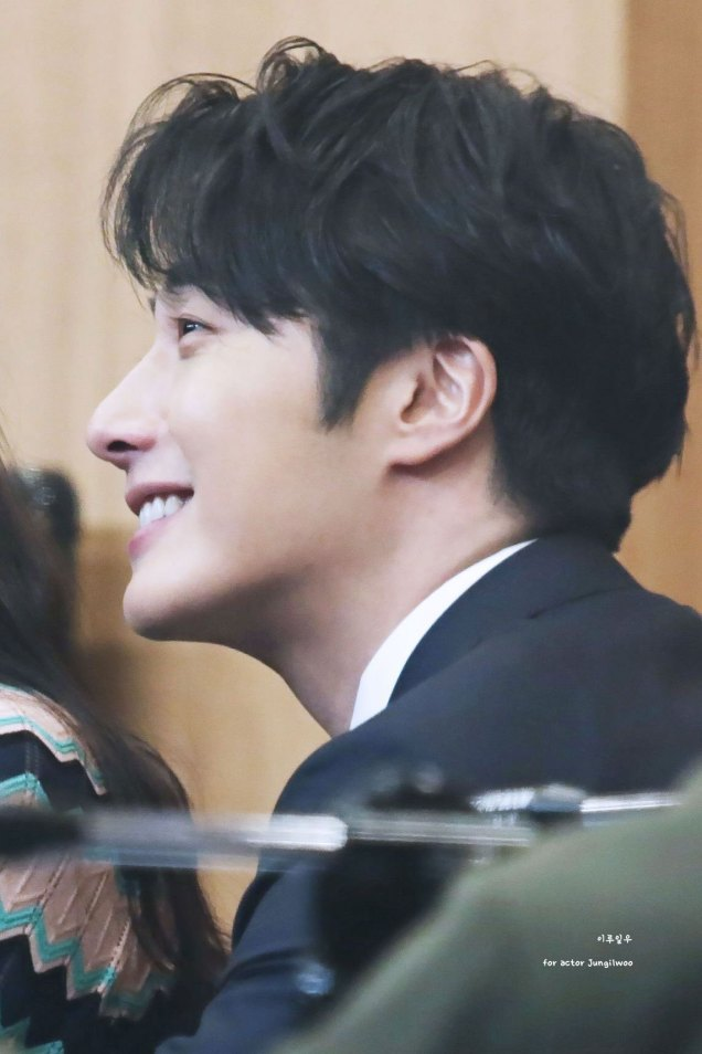 2019 2 11 Jung Il-woo at the Production Presentation by 이루일우 for actor Jungilwoo2