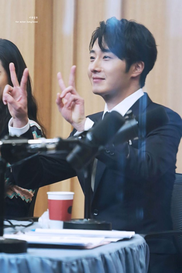 2019 2 11 Jung Il-woo at the Production Presentation by 이루일우 for actor Jungilwoo7