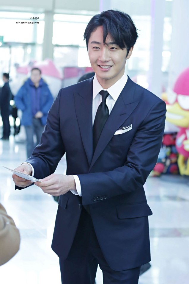 2019 2 11 Jung Il-woo at the Production Presentation by 이루일우 for actor Jungilwoo8