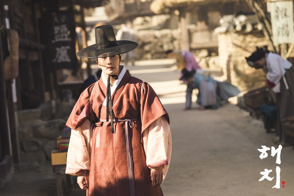 2019 2 11 Jung Il-woo BTS Haechi Episode 1. Cr. SBS, Dispatch. 22