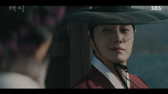 2019 2 11 Jung Il-woo in Haechi Episode 1. Cr. SBS 9