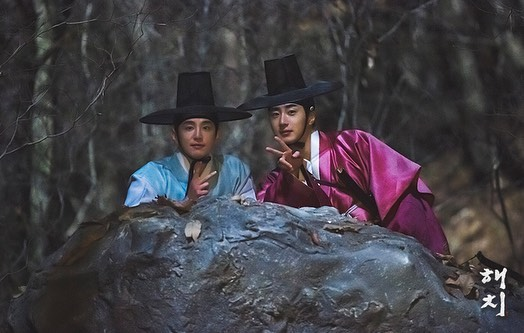 2019 2 11 Jung Il-woo in Haechi Episode 2 (3-4) Behind the Scenes. 16