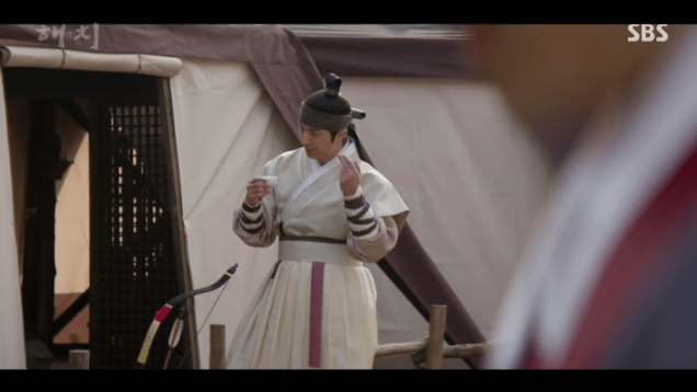 2019 2 11 Jung Il-woo in Haechi Episode 2. Cr. SBS & Fan1325