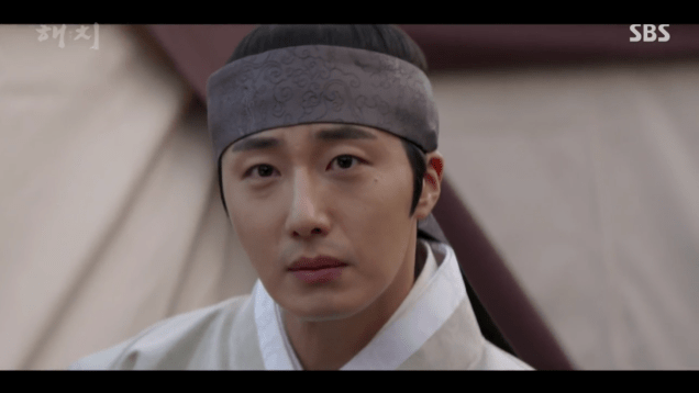 2019 2 11 Jung Il-woo in Haechi Episode 2. Cr. SBS & Fan1327