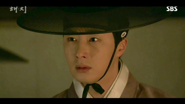 2019 2 18 Jung Il-woo in Haechi Episode 4 (7,8) Cr. SBS. Screen Captures by Fan 13. 16