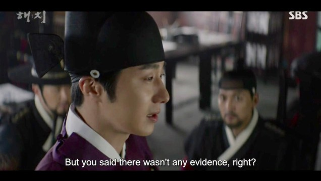 2019 2 18 Jung Il-woo in Haechi Episode 4 (7,8) Cr. SBS. Screen Captures by Fan 13. 23