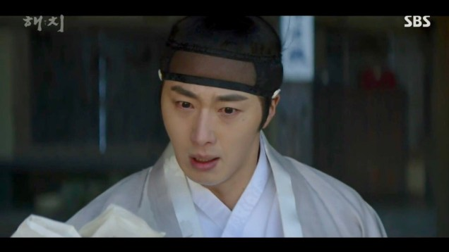 2019 2 18 Jung Il-woo in Haechi Episode 4 (7,8) Cr. SBS. Screen Captures by Fan 13. 27