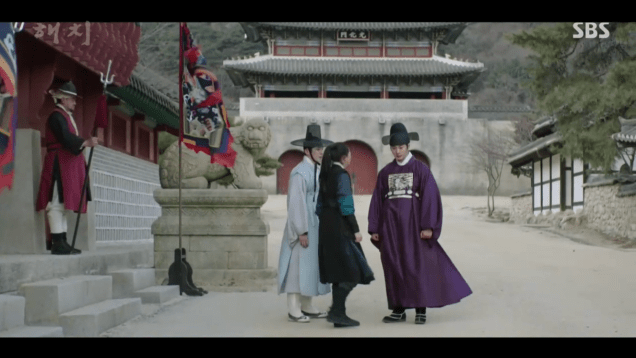 2019 2 18 Jung Il-woo in Haechi Episode 4 (7,8) Cr. SBS. Screen Captures by Fan 13. 37