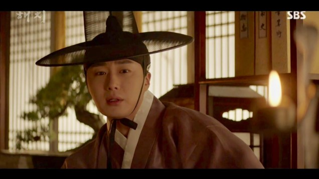 2019 2 18 Jung Il-woo in Haechi Episode 4 (7,8) Cr. SBS. Screen Captures by Fan 13. 50