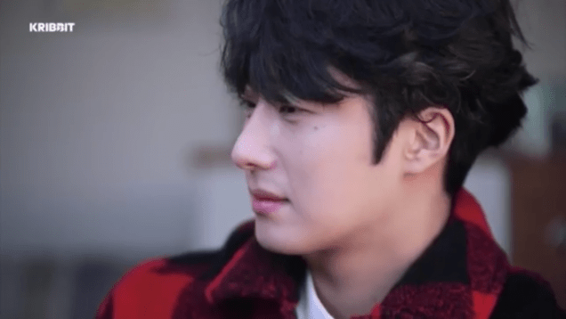 2019 2 18 Jung Il-woo in Kribbit Behind the Scenes Video 3, Screen Captures by Fan 13. Cr.Kribbit 1