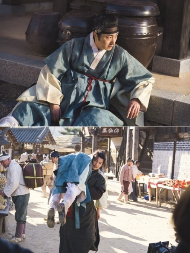 2019 2 25 Jung Il-woo in Haechi Episode 5 (9,10) Behind the Scenes 6.jpg