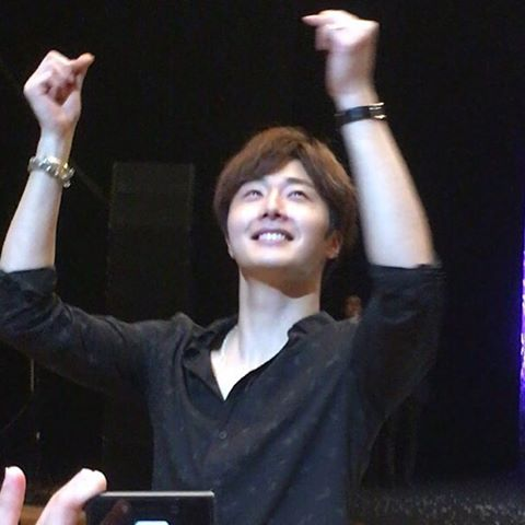 2016 4 15 Jung Il-woo at the 10th Thank You Fan Meeting in Japan. Cr. Fan Taken2