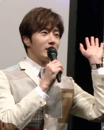 2016 4 15 Jung Il-woo at the Press Conference for the 10th Thank You Fan Meeting in Japan. 2