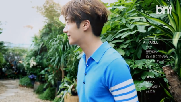 2016 5 22 Jung Il-woo in a BNT Pictorial. Cr BNT, Screen Captures by Fan 13. 9