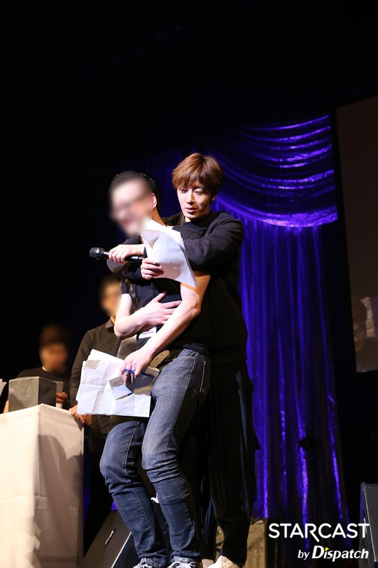 2016 Jung Il-woo in his 10th Thank You Fan Meeting in Japan. Cr. Starcast 20.jpg