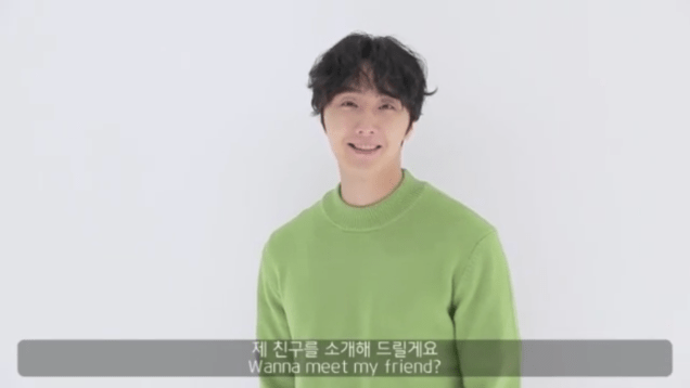 2019 2 18 Jung Il-woo in Kribbit Behind the Scenes Main Video, Screen Captures by Fan 13. Cr.Kribbit 17