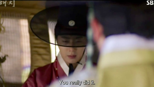 2019 2 26 Jung Il-woo in Haechi Episode 6 (11,12) Cr. SBS Screen Captures by Fan13. 107