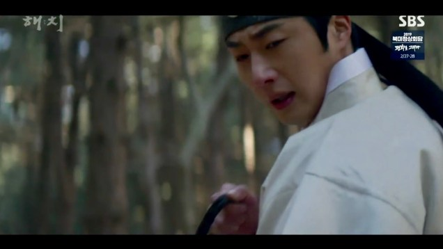 2019 2 26 Jung Il-woo in Haechi Episode 6 (11,12) Cr. SBS Screen Captures by Fan13. 21