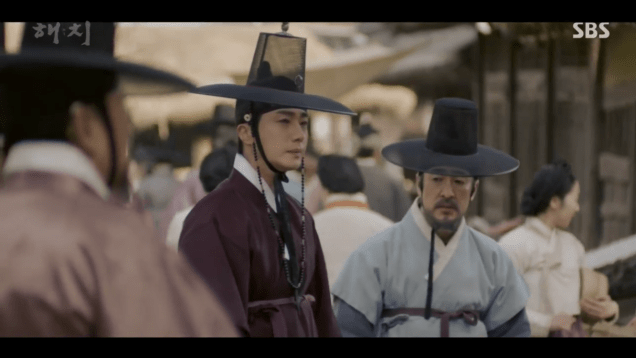 2019 2 26 Jung Il-woo in Haechi Episode 6 (11,12) Cr. SBS Screen Captures by Fan13. 38
