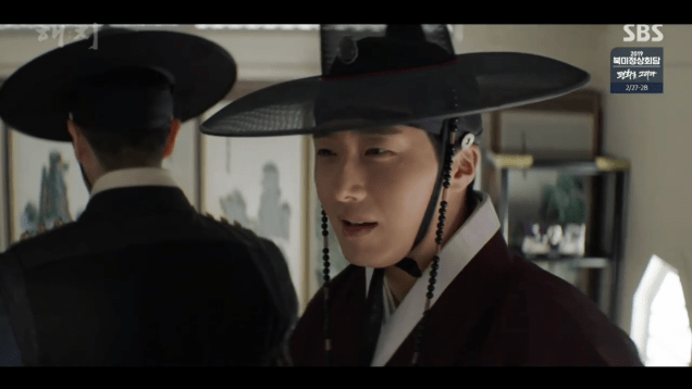 2019 2 26 Jung Il-woo in Haechi Episode 6 (11,12) Cr. SBS Screen Captures by Fan13. 7