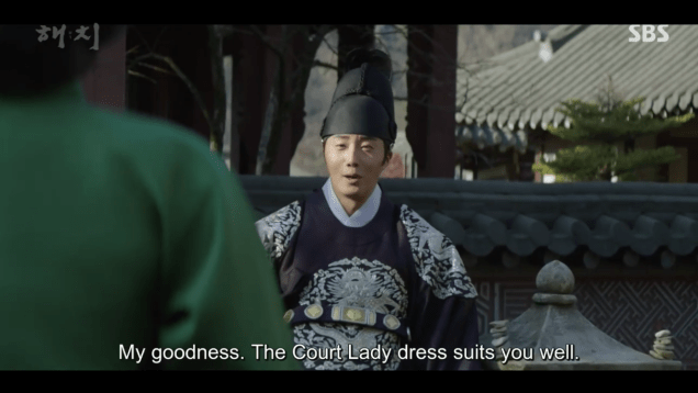 2019 3 11 Jung Il-woo in Haechi Episode 9. 4