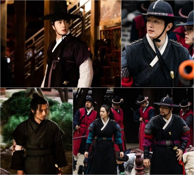 2019 3 11 Jung Il-woo in Haechi Episode 9. Behind the Scenes. 2.jpg