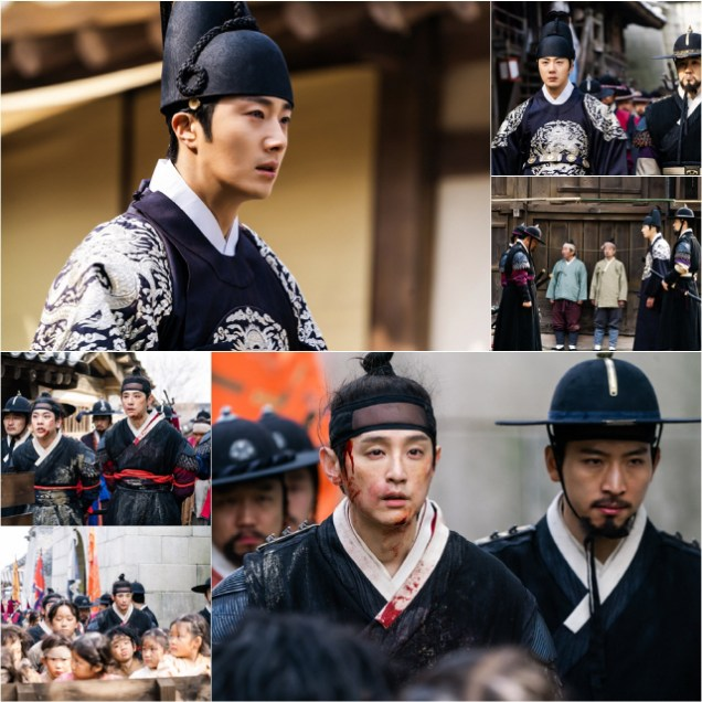 2019 3 18. Jung Il-woo in Haechi Episode 11. Behind the Scenes and Website photos. Cr. SBS 5.jpg