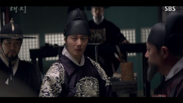 2019 3 18. Jung Il-woo in Haechi Episode 11. Cr. SBS 6