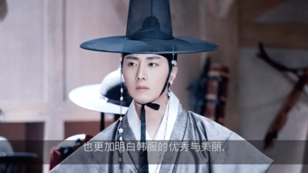 2019 3 29 Jung Il-woo in promotional video for exhibit at the China National Silk Museum. Cr. China National Silk Museum. 4
