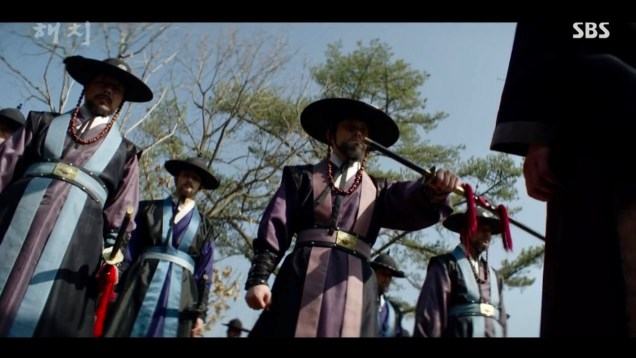 2019 3 8 Jung Il-woo in Haechi Episode 8. 37
