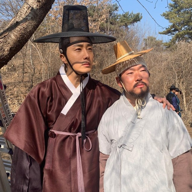 2019 3 8 Jung Il-woo in Haechi Episode 8. Behind the Scenes. 1