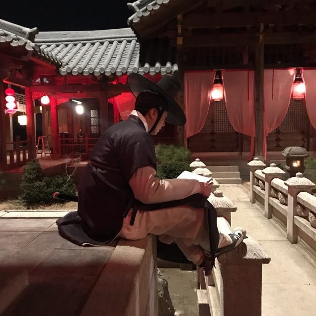 2019 3 8 Jung Il-woo in Haechi Episode 8. Behind the Scenes. 7