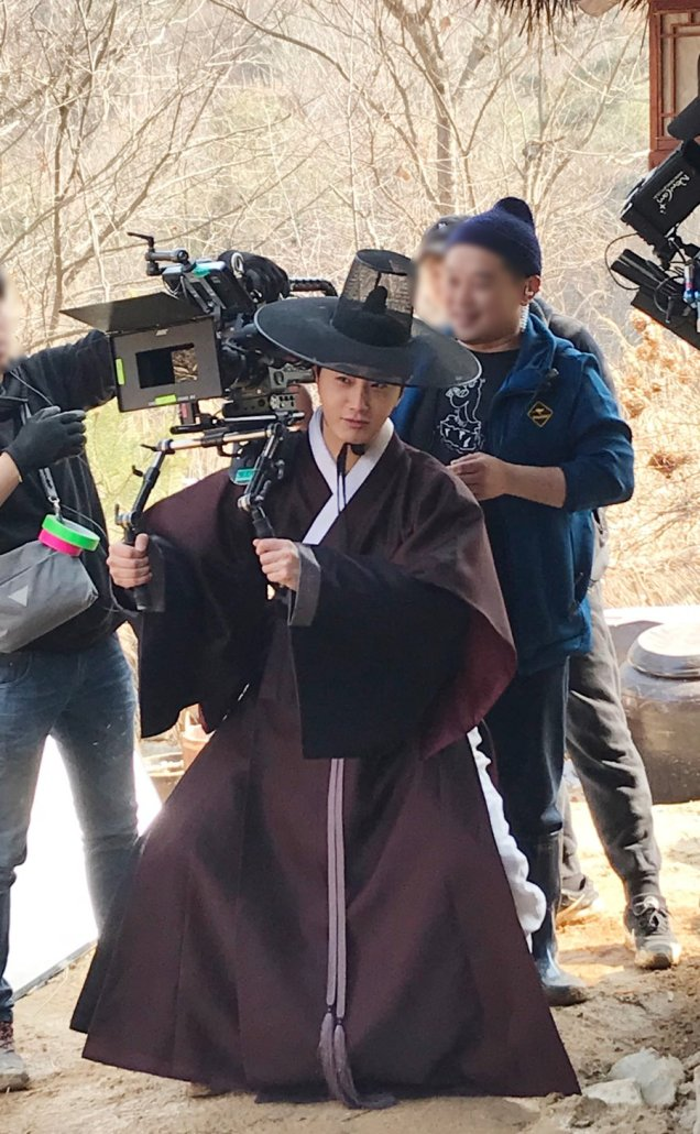 2019 3 8 Jung Il-woo in Haechi Episode 8. Behind the Scenes. 9