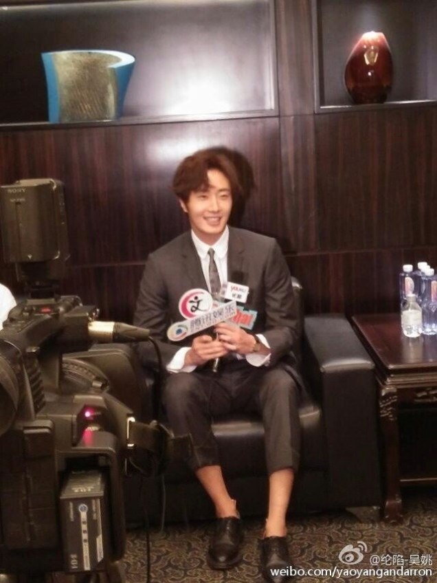 2015 10 Jung Il-woo in the Press Conference of Beautiful Woman : Beauty Dream. Interview. 10