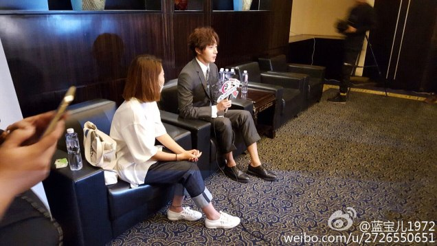 2015 10 Jung Il-woo in the Press Conference of Beautiful Woman : Beauty Dream. Interview. 14