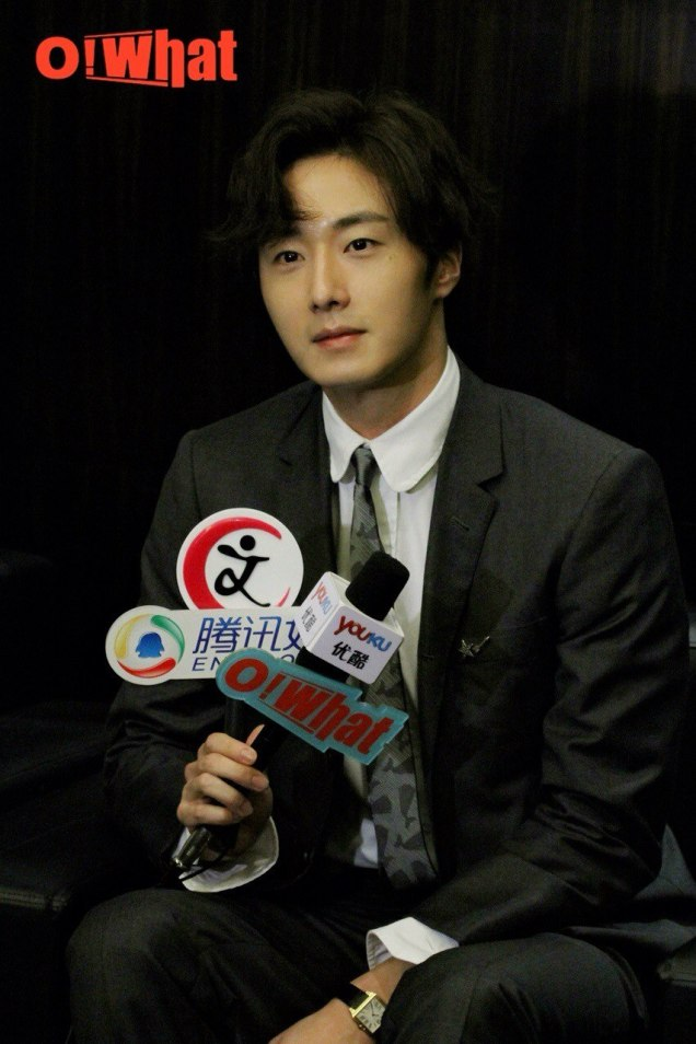 2015 10 Jung Il-woo in the Press Conference of Beautiful Woman : Beauty Dream. Interview. 2