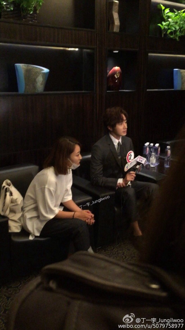 2015 10 Jung Il-woo in the Press Conference of Beautiful Woman : Beauty Dream. Interview. 6