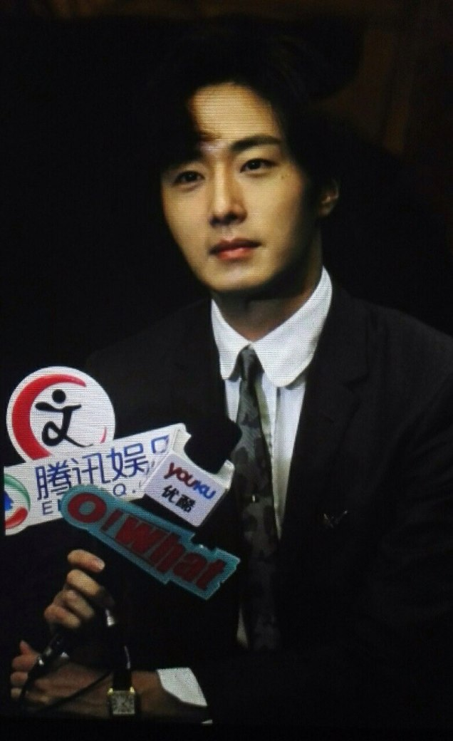 2015 10 Jung Il-woo in the Press Conference of Beautiful Woman : Beauty Dream. Interview. 7