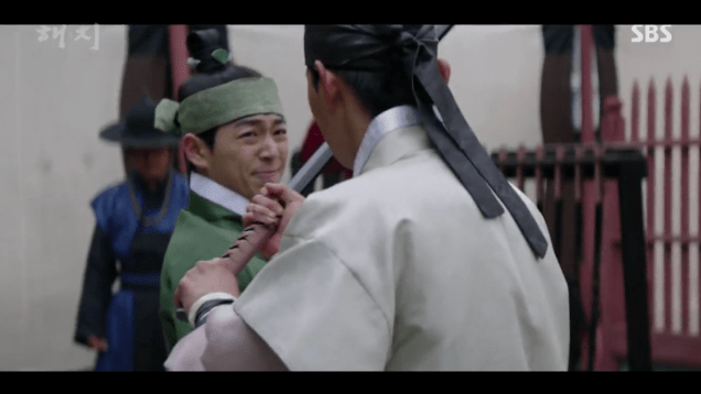 2019 3 26 Jung Il-woo in Haechi Episode 14(27,28) Cr. SBS 4