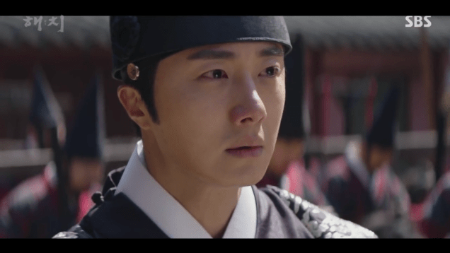 2019 4 1 Jung Il-woo in Haechi Episode 15(29,30) Cr. SBS 6