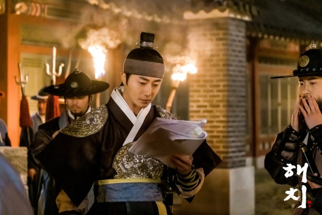 2019 4 1 Jung Il-woo in Haechi Episode 15(29,30) Website Photos and Behind the Scenes. Cr. SBS 4
