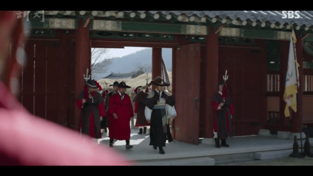 2019 4 2 Jung Il-woo in Haechi Episode 16 (31-32) Cr. SBS 16
