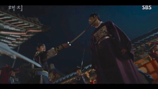2019 4 2 Jung Il-woo in Haechi Episode 16 (31-32) Cr. SBS 4